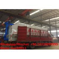 Wholesale CLW brand 8m3-40m3 bulk feed tank container mounted on cargo truck for sale, HOT SALE cargo truck with feed tank from china suppliers