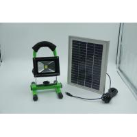 Wholesale Portable LED Flood Light  10W, with Solar panel IEC / CE / ISO9001 : 2008 from china suppliers