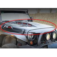 Wholesale Avenger Style Hood Vehicle Spare Parts With Functional Vents For 2007-2017 Jeep Wrangler JK from china suppliers