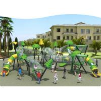 Buy cheap New  Children  outdoor playground fun  climbing with slide park/ Square using from wholesalers