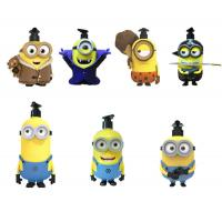 Wholesale 5 - 7 Inch Height Yellow Color Minions Cartoon Shampoo Bottle Made By PVC / ABS Material from china suppliers