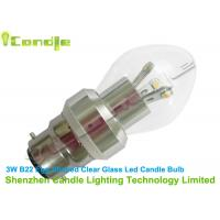 Wholesale Natural White 220Lm Led Candle Bulbs b22 3500K - 5000K For Home Lighting from china suppliers