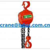 Wholesale High Speed HSZ-A manual  chain hoist with high quality from china suppliers