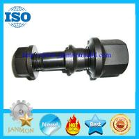 Wholesale Black oxide hub bolt with nut,Hub bolt with nut,Black oxide wheel bolt and nut,High tensile bolt and nut,Hex flange bolt from china suppliers