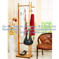 Wholesale Wooden coat rack, bamboo hangers, living room furniture from china suppliers