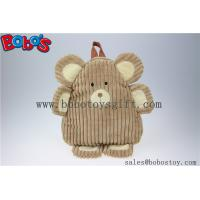 "Wholesale 11.8""Lovely Brown Bear Children Backpack Bos-1234/30cm from china suppliers"