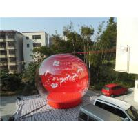 Wholesale 0.6mm PVC Tarpaulin Giant Inflatable Christmas Snow Globe For Winter Festival from china suppliers
