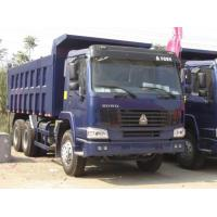 Wholesale Dump Camion Steel Heavy Commercial Trucks , Heavy Load Truck With Warranty from china suppliers