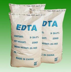 Wholesale CAS No. 60-00-4 EDTA Acid, Edetic Acid or Edathamil White Powder EDTA Chelator R36/37/38 from china suppliers