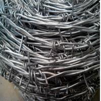 Buy cheap Hot Dip Galvanized Barbed wire from wholesalers