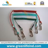 Wholesale Muti-Colors Plastic Retention Rope Chain w/Snap Big Hook Security Stretch Tool Lanyards from china suppliers