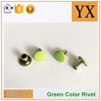 Wholesale Youxin hardware Flat round rivets used in apprael Trade gloden supplier from china suppliers