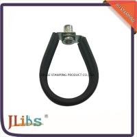 Wholesale Carbon Steel Hanging Pipe Clamps / Pipe Hanging Brackets With Epdm Rubber from china suppliers