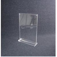 Wholesale COMER Acrylic Display Sheet Board Panel stand for Inserts Tag Brochure, Leaflet, Catalog from china suppliers