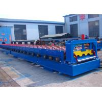 Wholesale Steel Floor Deck Roll Forming Machine , Roof And Floor Tile Making Machine from china suppliers