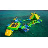 Wholesale Longevity Inflatable Floating Water Park / Inflatable Aqua Park from china suppliers