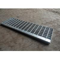 Wholesale Hot Dip Galvanised Stair Treads , T1 / T2 / T3 / T4 Bar Grating Stair Treads from china suppliers
