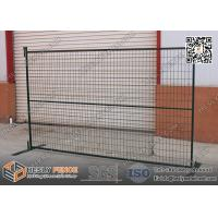 Buy cheap 6ft*10ft Temporary Construction  Fencing Panels With Black Color Powder Coated from wholesalers
