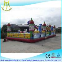 Quality Hansel inflatable products manufacturers playground for commercial for children for sale
