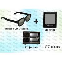 Wholesale 3D Polarized Glasses with Trolley and 3D Projector for Home Theater from china suppliers