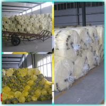 density 24kg/m3 fiber glass wool blanket with fsk mesh