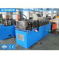 Wholesale Hydraulic Cutting Hat Channel Roll Forming Machine from china suppliers
