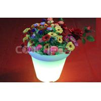 Wholesale Room Decoration Led Flower Pot , KFP - 6265 glow in the dark planters from china suppliers