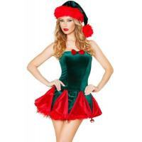 Holiday Funny Christmas Costumes , Toy Maker Sexy Christmas Dress