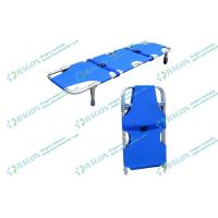 Wholesale First Aid Ambulance Stretcher , aluminum alloy collapsible stretcher with outrigger from china suppliers