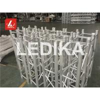 Shiny Indoor Or Outdoor Event Truss , Aluminum Spigot Truss 390mm Exhibit Truss