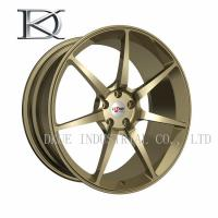 Wholesale Gloss Black Aluminum Forged Wheels , Machined Aluminum Wheels For Car from china suppliers