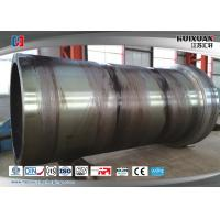 Wholesale Rough Machining Forged Cylinder Double Flange Barrel 5000mm 6000T from china suppliers