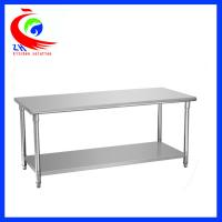Wholesale Resturant stainless steel food preparation tables / stainless steel workbenches from china suppliers