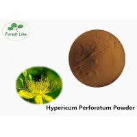 Wholesale Anti-virus Hypericum Perforatum Plant Extract Powder 0.3% Hypericin by UV from china suppliers