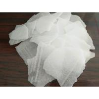China SGS tested 99%,96% white thin caustic soda flake used for soap detergent making on sale