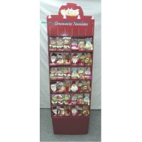 Quality Seasonal Holiday Cardboard Floor Display for Promotion Christmas for sale