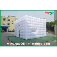 Wholesale Opening Window Inflatable Cube Tent Middle Door Inflatable Party Tent from china suppliers