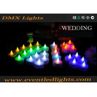 Wholesale Wedding Decoration Rechargeable Led Candles , Wax Electronic Candles from china suppliers