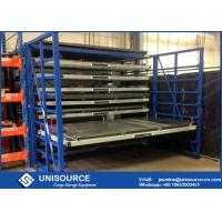 Wholesale Easily Operation Injection Mould Storage Racks , Roll Out Racks With Safety Interlocks from china suppliers