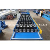 Wholesale Roofing And Wall R Shape Roll Forming Machine With Fast Speed , Roll Forming Line from china suppliers