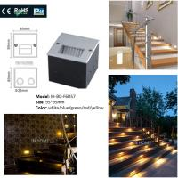 Wholesale Square Shape 5730SMD Recessed LED Wall For Stair Lights Indoor / Outdoor Step from china suppliers