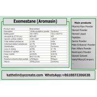 Wholesale Steroid Cycle PCT Aromasin Anti Estrogen Steroids hormnoe Powder Exemestane Bodybuilding Supplements 107868-30-4 from china suppliers