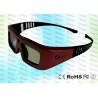 Wholesale Cinema IR Active shutter adult 3D glasses GT100, iron red color from china suppliers