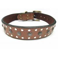 Wholesale Fashion big leather dog collar for big dogs big discount with more quantities from china suppliers