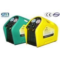Wholesale Auto Refrigerant R134A Recovery Machine , CE Portable Commercial Vacuum Pump from china suppliers