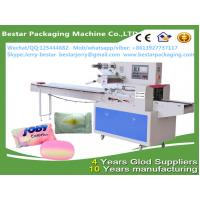 Wholesale Automatic Horizontal Wrapping Machine for Hotel Soap Flow Packing Packaging bestar packaging machine BST-350B from china suppliers