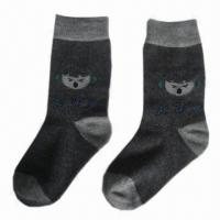 Wholesale Children's/Kids' Socks, Made of Cotton, Spandex and Jacquard Knitting from china suppliers