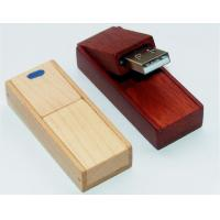Wholesale Custom High Speed Red Notebook Wooden Usb Flash Drive 8GB,16GB, 32GB, 64GB from china suppliers