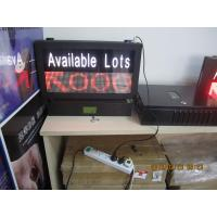 Vehicle LED Parking Guidance and Information System Availability Indicator LED Display