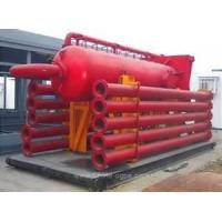 Wholesale Skid-Mounted oil / gas / petroleum drilling equipment mud / liquid gas separators from china suppliers